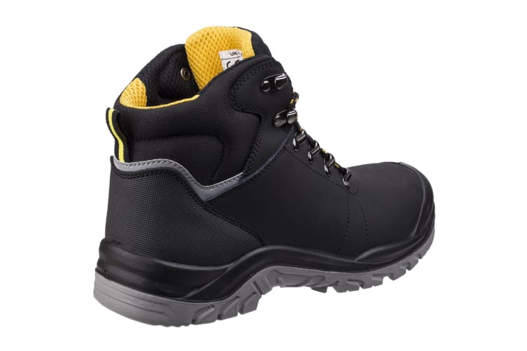 Amblers Safety AS252 Mens Leather Safety Boots (Black) (9 UK)
