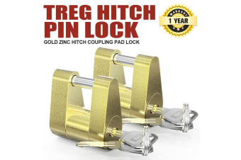 ATEM POWER Treg Hitch Pin Lock Trigg & Snap On Latch Type Ball Coupling 4Wd Trailer Caravan