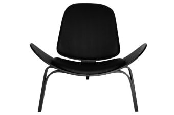 Replica Hans Wegner Shell Chair | Black