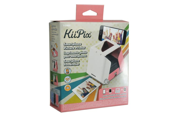 TOMY KiiPix Smart Phone Printer - Cherry Blossom