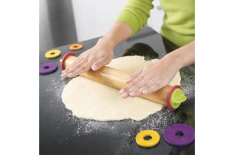 Joseph Joseph Adjustable Rolling Pin - Classic Rainbow