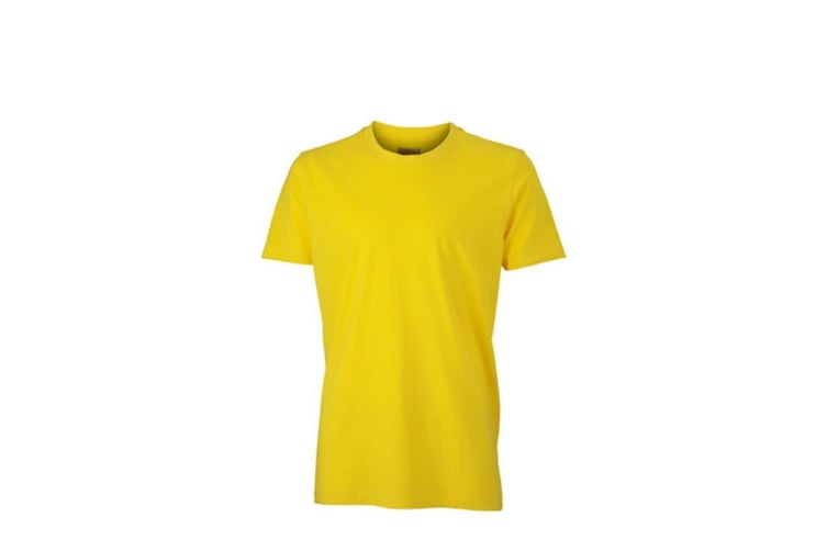 James and Nicholson Mens Vintage-T (Sun Yellow) (S)