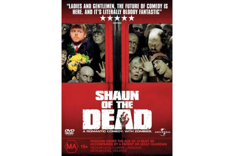 Shaun of the Dead DVD Region 4