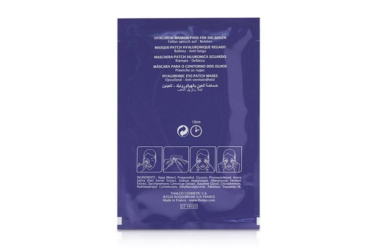 Thalgo Hyaluronique Hyaluronic Eye-Patch Masks 8x2patchs