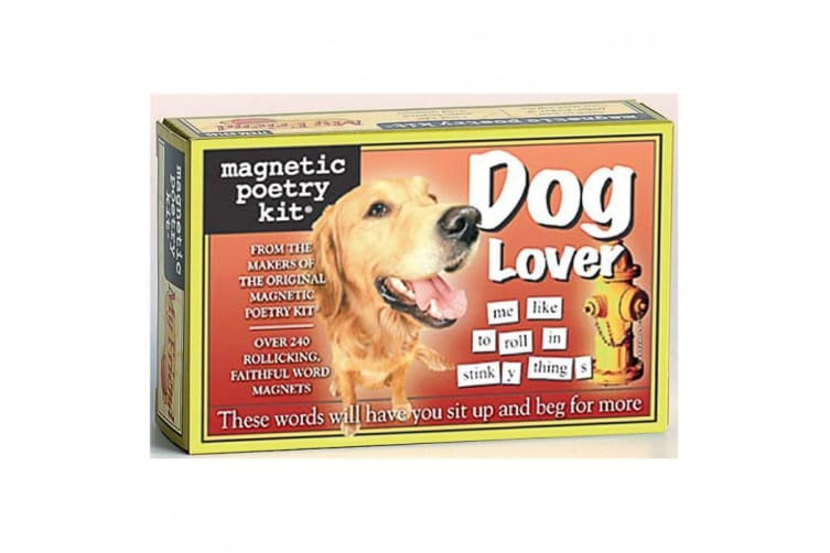 The Original Magnetic Poetry Kits - Dog Lover