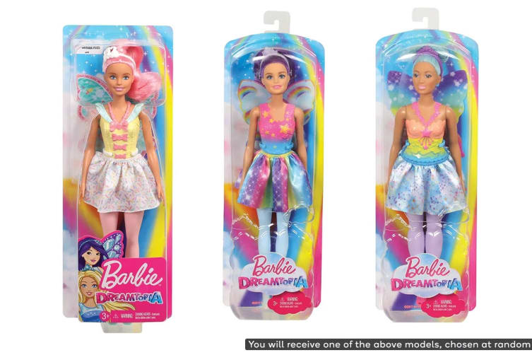 Barbie Fairy Doll (Assorted)