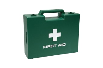 Battles First Aid Carrying Case (Green/White) (One Size)