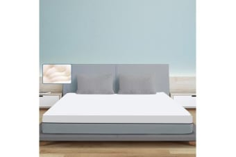 High Density Memory Foam Mattress Topper With Polyester Cover KING SIZE