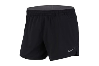 Nike Elevate 5 Inch Women's Running Shorts (Black/Gunsmoke, Size S)