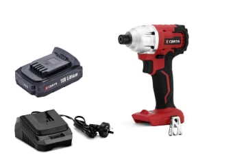 Certa PowerPlus 18V Cordless Brushless Impact Driver Kit