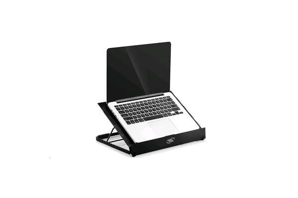 "Deepcool N9 Notebook Cooler (Up To 17"") Angle Adjustable Antislip Aluminium 14cm Fan x2  4x USB"