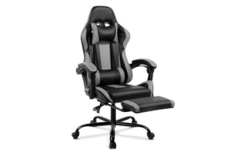 Racer Executive Chair (Black/Grey)
