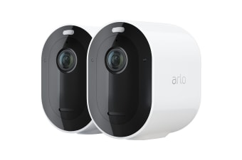 Arlo PRO 3 VMS4240P Wire-Free Security Camera System - 2 Camera Kit (30 days free cloud storage for