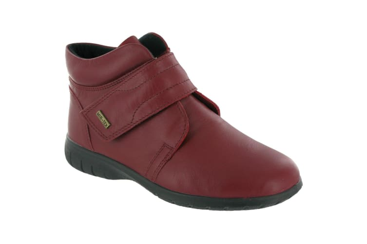 Cotswold Chalford Ladies Ankle Boot / Womens Boots (RED) (6 UK)
