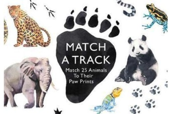 Match a Track - Match 25 Animals to Their Paw Prints