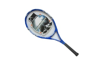 Carbon Fiber Super Light Weight Tennis Racquets Shock-Proof And Throw-Proof Blue