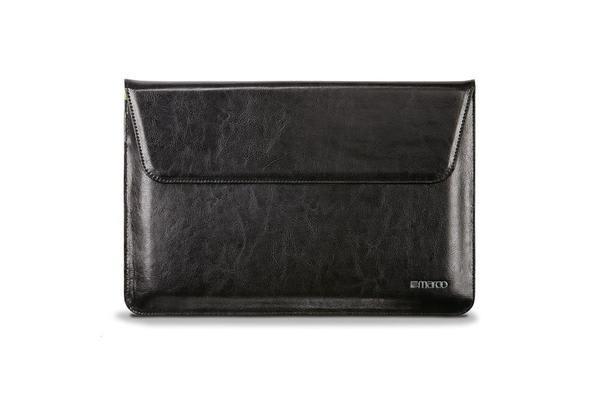 Maroo Design for Surface Pro 3/4 Sleeve - Real Leather - Black