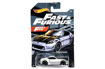 Hot Wheels Fast and Furious Nissan 370Z Diecast Car