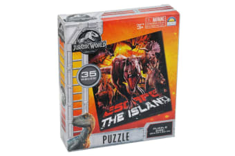 35pc Jurassic World Escape The Island Jigsaw Educational Kids/Child Puzzle Toy