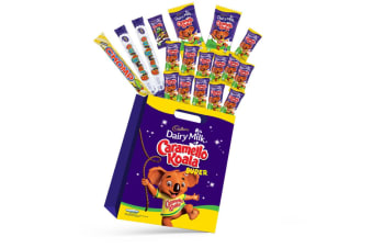 18pc Cadbury Caramello Koala Kids Super Showbag w/Dairy Milk Freddo Chocolates