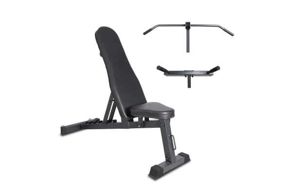 Lifespan Fitness BN-6 Standalone Bench with Chin Up & Dip Attachments