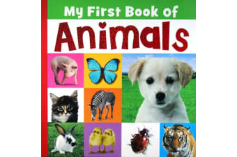 My First Book Of Animals - By Joanna Bicknell