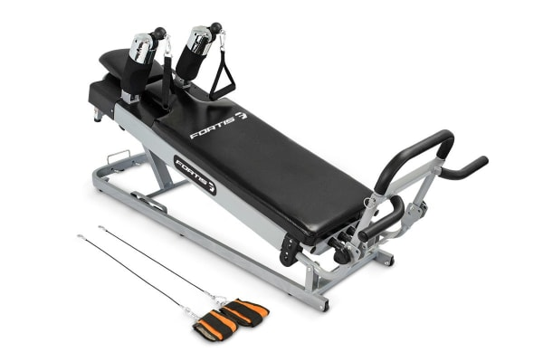 Fortis Pilates Reformer Gym Machine Kogan Com