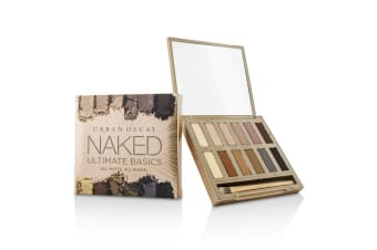 Urban Decay Naked Ultimate Basics Eyeshadow Palette: 12x Eyeshadow  1x Doubled Ended Blending and Smudger Brush