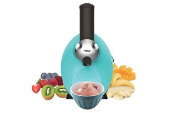TODO Frozen Fruit Dessert Maker Blender Gellato Healthy Ice Cream - Blue