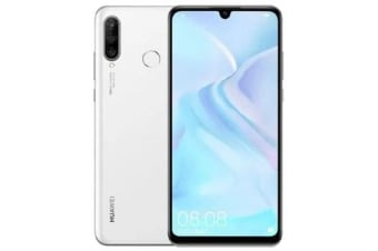 New Huawei P30 Lite 128GB Dual SIM 4G LTE Smartphone White (FREE DELIVERY + 1 YEAR AU WARRANTY)