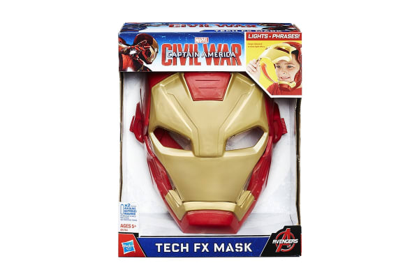 Captain America Civil War: Iron Man Tech FX Mask