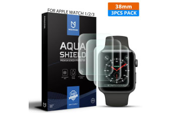 MaxShield Screen Protector for Apple Watch Series 38mm iWatch