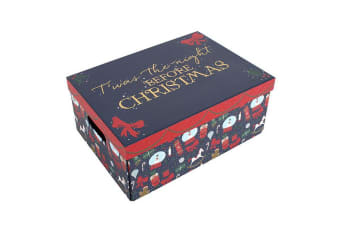 Something Different Deck The Halls Christmas Eve Box (Multicolour) (One Size)
