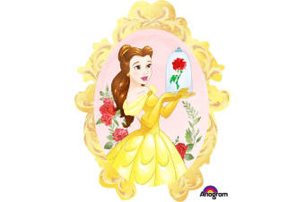Anagram Supershape Beauty & The Beast Balloon (Multicolour)