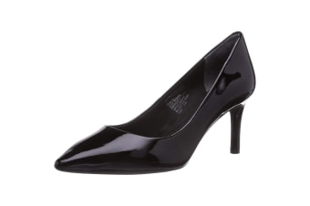 Rockport Womens Total Motion Pointy Toe Stiletto Shoe (Black)