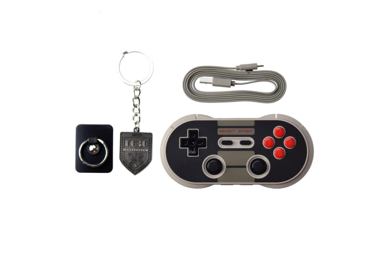 8Bitdo NES30 PRO Wireless Bluetooth Game Controller Android iOS Nintendo  Switch