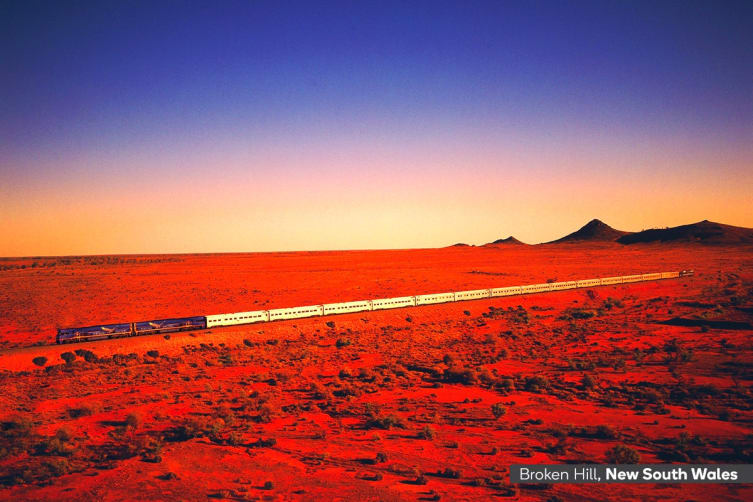THE INDIAN PACIFIC: 5 Day Luxury Rail Package Including Flights for Two (Departing ADL)