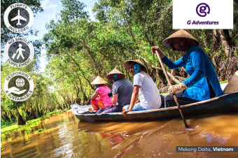 CAMBODIA & VIETNAM: 10 Day Mekong River Cruise Including Flights For One or Two