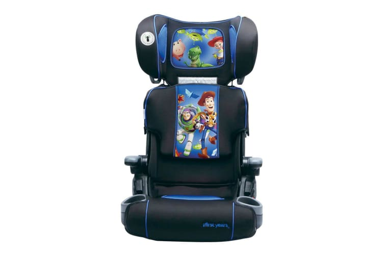 Disney Toy Story Foldable/Adjustable Car Seat Booster Toddler/Child 4yr+ Blue