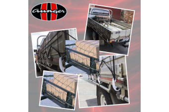 AUNGER SQUARE MESH LEGAL SAFE CARGO NET 1.8M X 2.4M UTE TRAY TRUCK TRAILER