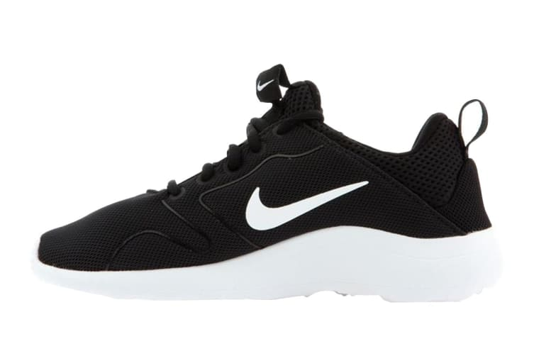 Nike Women's Kaishi 2.0 Running Shoes (Black/White, Size 7 US)