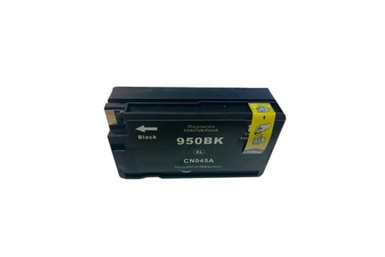 HP 950XL Black Compatible Cartridge with Chip