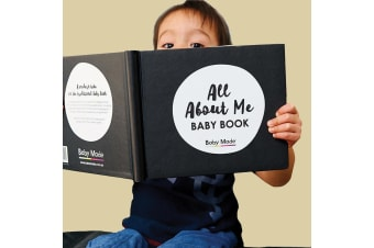 All About Me Gender-Neutral Baby Memory Keepsake Book