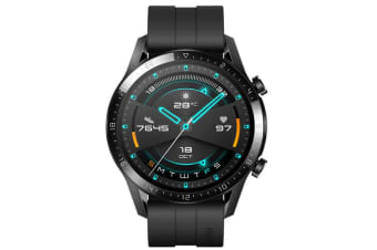 Huawei Watch GT 2 46mm Smart Watch Sport Edition with Black Sport Strap