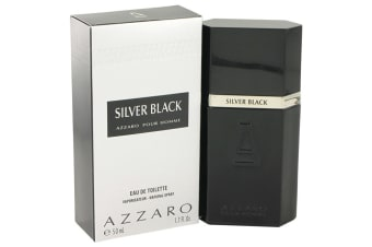 Azzaro Silver Black Eau De Toilette Spray 50ml/1.7oz