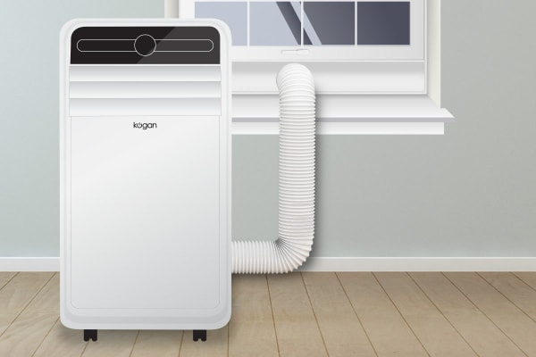 Kogan SmarterHome™ 4.1kW Portable Smart Air Conditioner (14,000 BTU, Reverse Cycle)