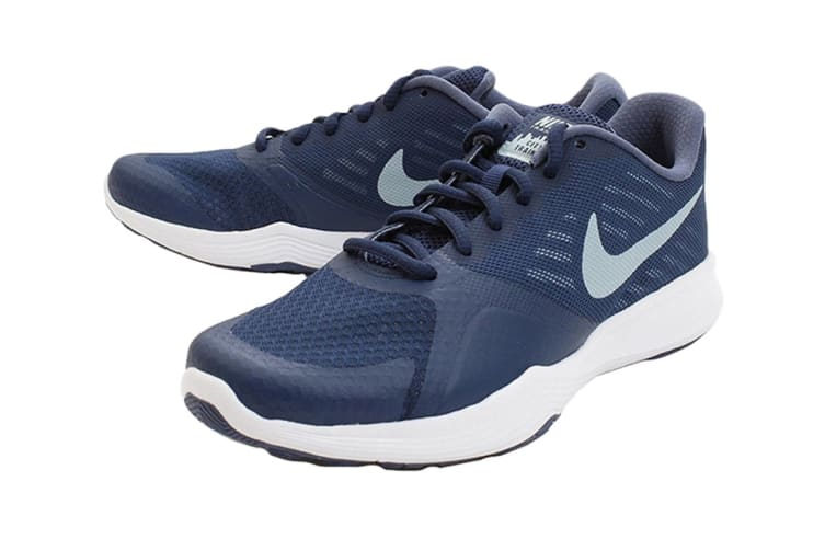 Nike Women's City Trainer Shoes (Navy/Ocean Bliss/Diffused Blue, Size 6.5 US)