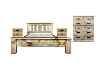 Drover King Bedroom Suite (Wood)