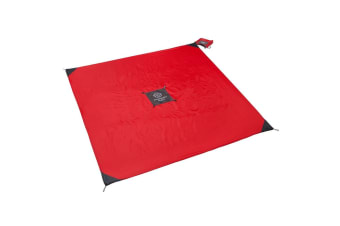 Monkey Mat Original Outdoor Beach/Picnic Travel Camping Water Repellant Rug Red