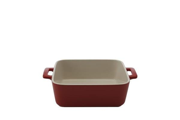 Maxwell & Williams Chef Du Monde Square Baker 19x8cm Red